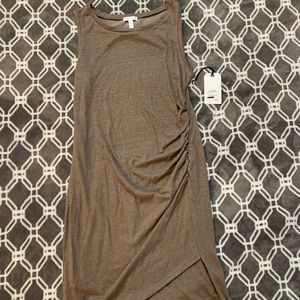 Leith Ruched Bodycon Tank Dress, NWT